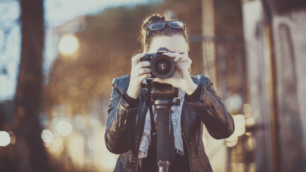 enquadramentos de fotos e vídeos