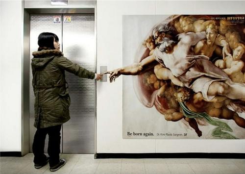 mídia em elevador Deus 2
