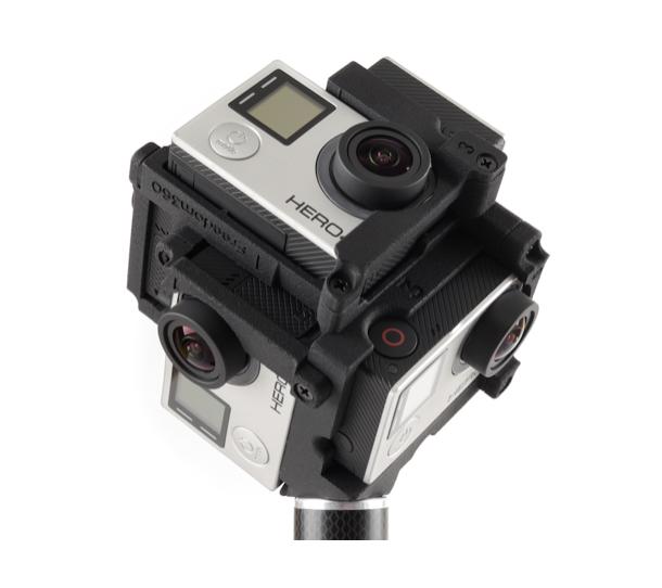 editar vídeos em 360 camera