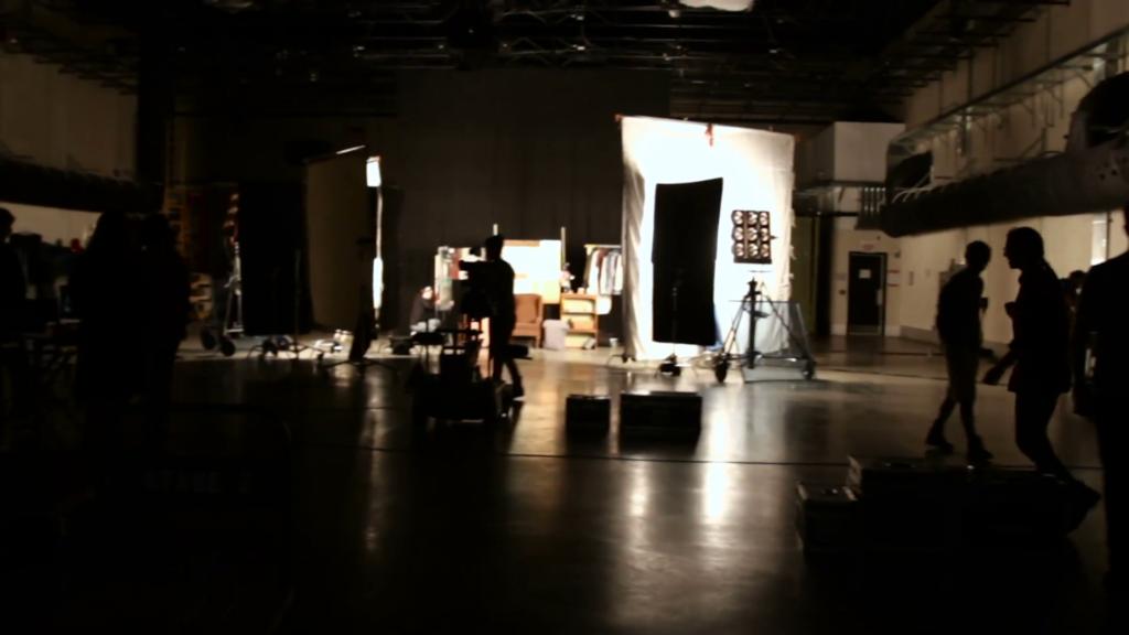 início da carreira no audiovisual