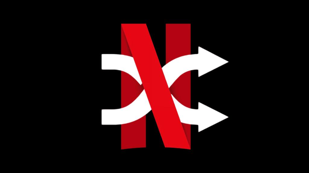 reprodução aleatória na netflix