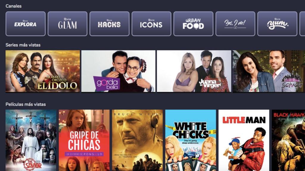 Vix Cine e Tv: nova plataforma de streaming